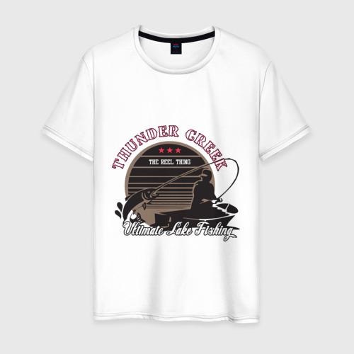 Мужская футболка хлопок Ultimate Lake Fishing