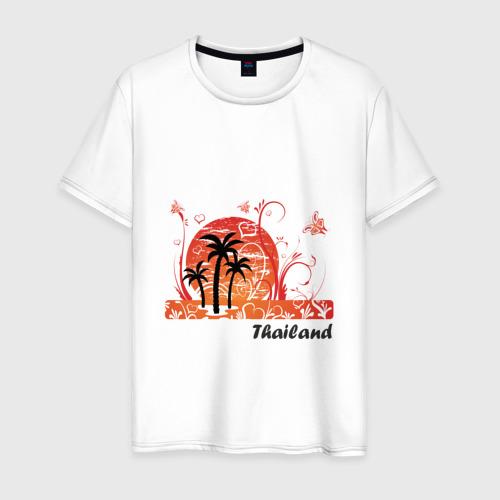 Мужская футболка хлопок Thailand