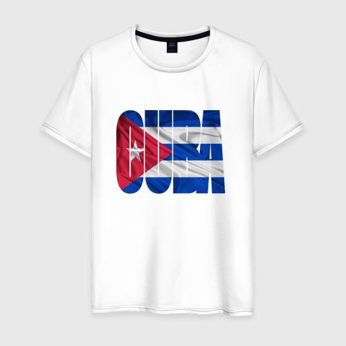Мужская футболка хлопок Куба