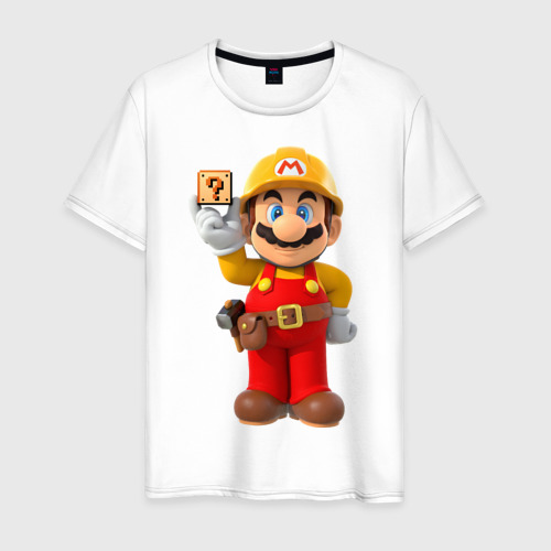 Мужская футболка хлопок Super Mario