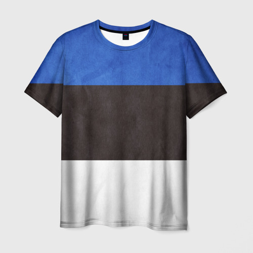 Мужская футболка 3D Эстония