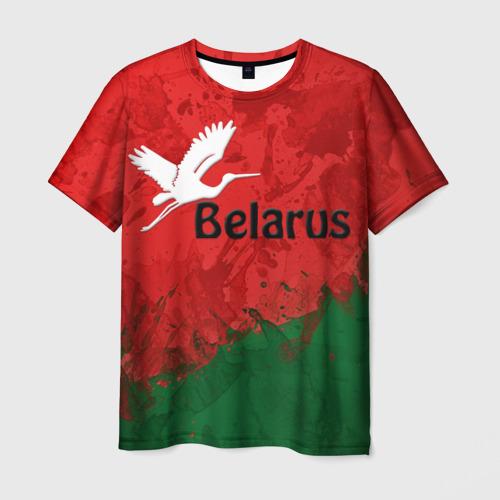 Мужская футболка 3D Belarus 2