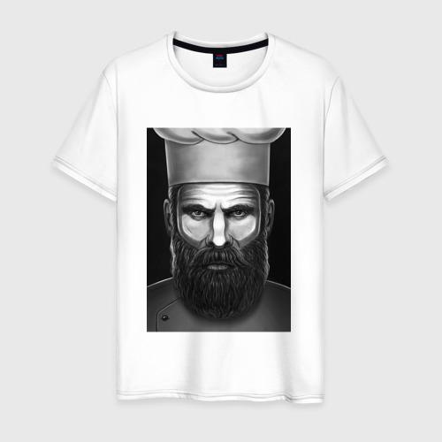 Мужская футболка хлопок Шеф повар