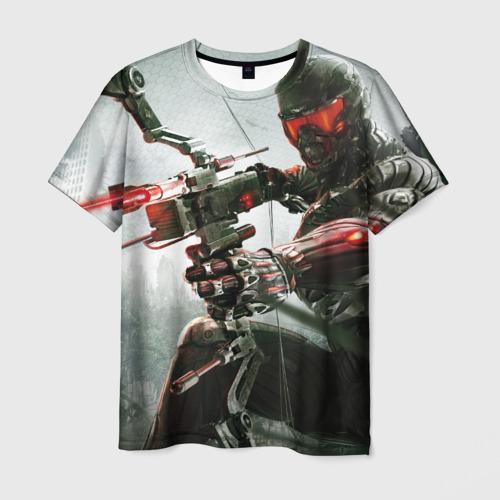 Мужская футболка 3D Кризис