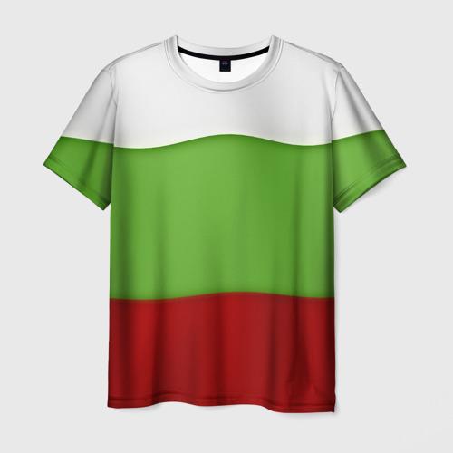 Мужская футболка 3D Болгария
