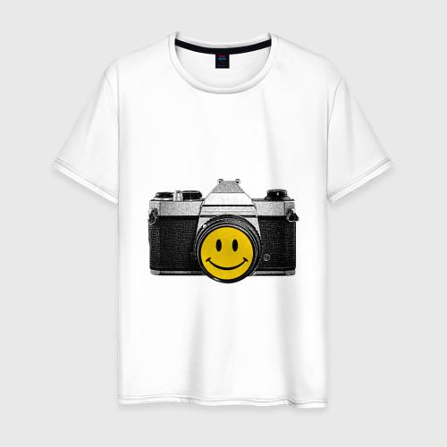 Мужская футболка хлопок Фото-smile