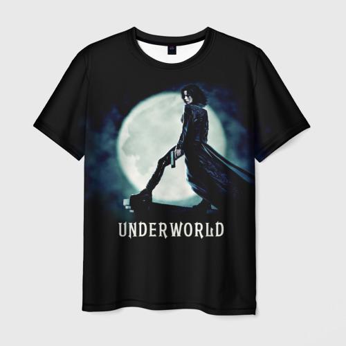 Мужская футболка 3D Другой мир