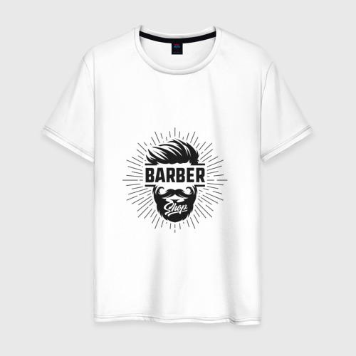 Мужская футболка хлопок Barber Shop