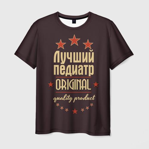 Мужская футболка 3D Лучший педиатр