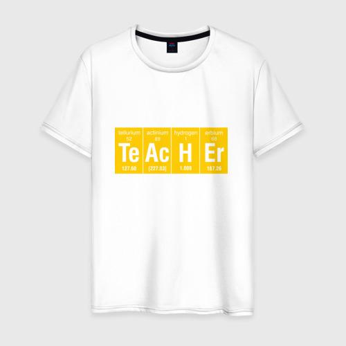 Мужская футболка хлопок Учитель
