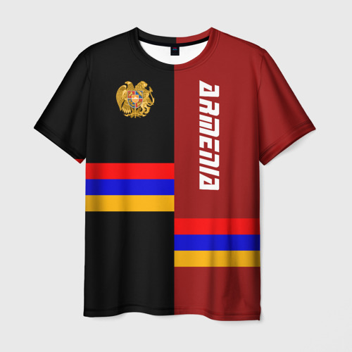 Мужская футболка 3D ARMENIA (Армения)