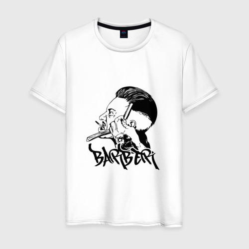 Мужская футболка хлопок BARBER