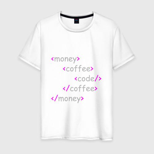 Мужская футболка хлопок Front-end разработка