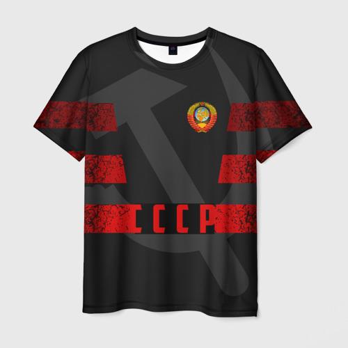 Мужская футболка 3D Символы СССР
