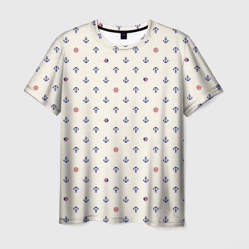 Мужская футболка 3D Морячок
