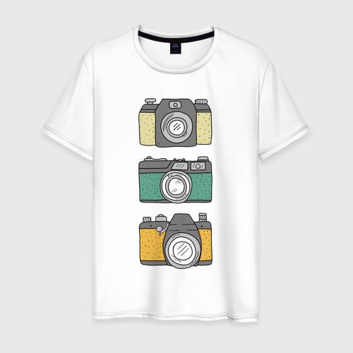 Мужская футболка хлопок Фотограф