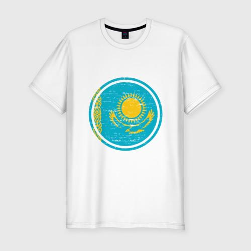 Мужская футболка хлопок Slim Казахстан