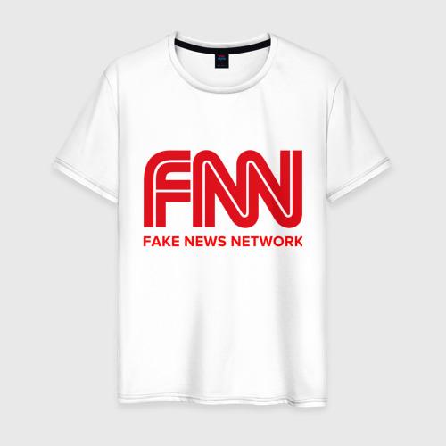 Мужская футболка хлопок FAKE NEWS NETWORK