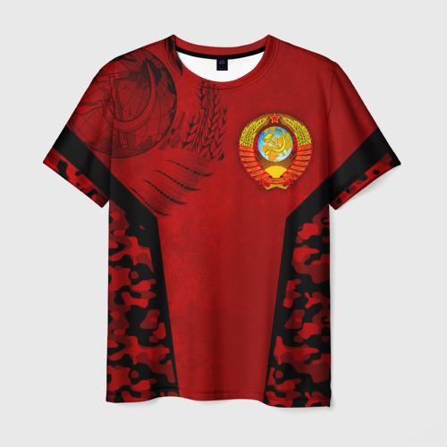 Мужская футболка 3D Камуфляж СССР