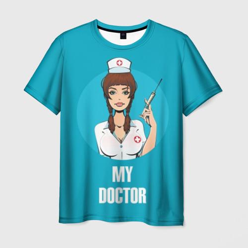 Мужская футболка 3D My doctor